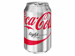Foto Blikje Coca Cola light